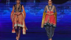 Bridal looks by Pakistani fashion designer Wardha Saleem.