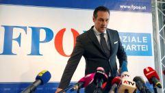Austrian Freedom Party leader Christian Strache.