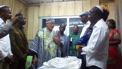 Torah scroll in Cote D'Ivoire
