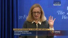 Katharine Gorka works for the United States government, as does her husband, Sebastian Gorka.
