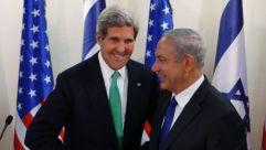Former Secretary of State John Kerry and Israeli Prime Minister Benjamin Netanyahu.