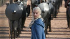 Look Back in Anguish:  Emilia Clarke plays Daenerys Targaryen on HBO?s ?Game of Thrones.?