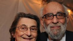 He Brought Torah:  Max Ticktin (right) pictured with his wife Esther.