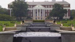 McKeldin Fountain at the University of Maryland.