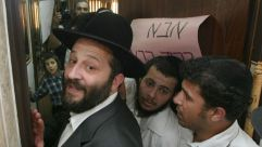 Hero No More : Shas leader Aryeh Deri got a hero's welcome when he returned home from jail on corruption charges in 2002.