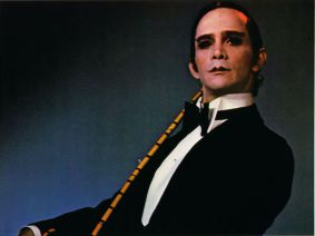 "Shades of Grey: Joel Grey in his 1972 Oscar-winning performance in ""Cabaret."""