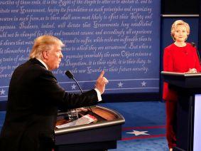 Donald Trump interrupted Clinton 51 times, but those tactics often serve men well.