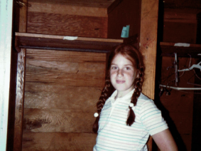 The author at summer camp, circa 1984.