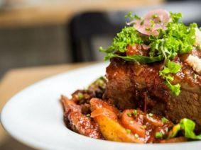 Braised Brisket is on Mile End Deli's Rosh Hashanah menu.