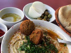 Mediterranean cuisine, of some sort, in Tel Aviv