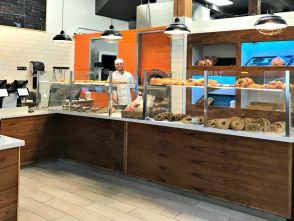 The inside of Frena Bakery