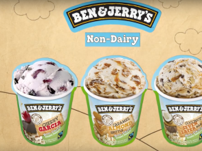 Ben and Jerry's releases three new non-dairy flavors.