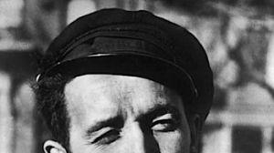 Roll on, Woody:  Guthrie, circa 1960.