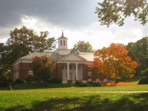 Edward Whitman Chapin Hall at Amherst College.