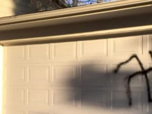 A swastika was spray-painted on a Jewish home in Aurora, Colorado.