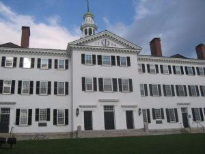 Dartmouth Hall at Dartmouth College