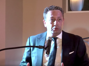 Felix Sater, now in the news due to his ties to President Trump and Russian interests, was named the 2014 Man of the Year by Chabad of Port Washington on the North Shore of Long Island.