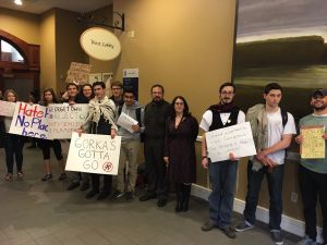 Goodbye Gorka: Silent protests and pointed questions from Georgetown University students spurred White House counterterrorism adviser Sebastian Gorka to leave a panel discussion 20 minutes early.