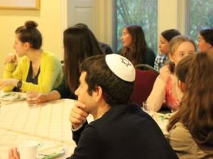 Jewish students at Haverford College