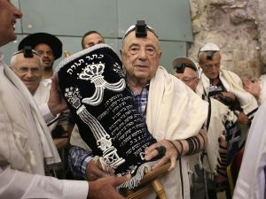 Holocaust Survivor Celebrates Bar Mitzvah In Israel, 80 Years Later