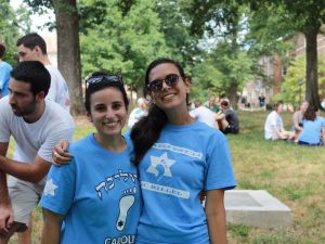 Jewish students at the University of North Carolina at Chapel Hill.