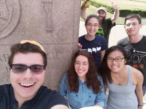 Jewish students at Rice University.