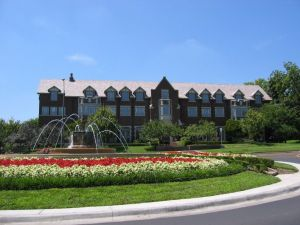 Chi Omega Fountain at the University of Kansas