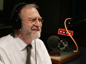 Radio Talk Show Host Leonard Lopate Interviews Guests On The Leonard Lopate Show At