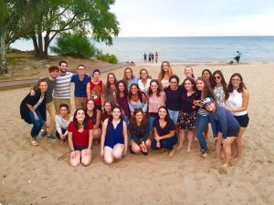 Jewish students of Loyola University Chicago