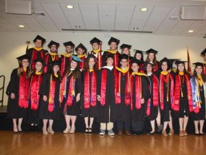 Sabbath-observant students at the University of Maryland held their own graduation ceremony.