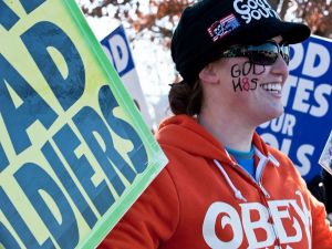 Megan Phelps-Roper was inspired to leave the Westboro Baptist Church after corresponding with a Jew on Twitter.