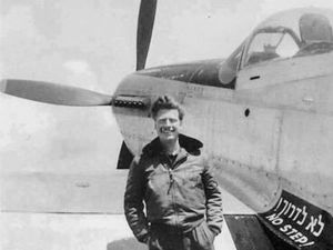 Mitchell Flint served in Machal, the unit of non-Israelis who fought for the nascent Jewish stated during its war for independence in 1948, and helped found the country's air force.