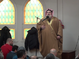 Sheikh Muhammad ibn Musa Al Nasr is being charged with wilful promotion of hatred after an anti-Semitic sermon at a Montreal mosque.