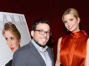 Ivanka Trump and business partner Moshe Lax, who is the subject of numerous lawsuits.