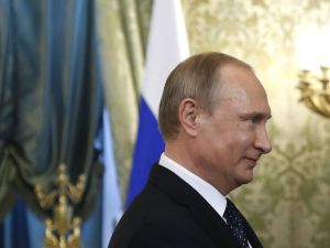 Benjamin Netanyahu meets with Russaia President Vladimir Putin.