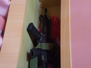 An Israeli security operation broke up a PFLP terror cell that hid a rifle inside a children's bed.