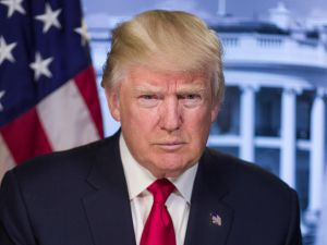 Official portrait of President Donald J. Trump.