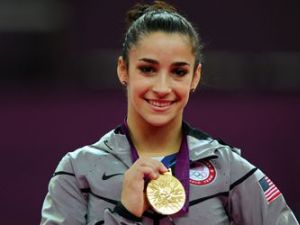 Gold medalist Aly Raisman has great moves off the mat, too.