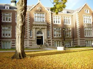 Rockefeller Hall at Vassar College.