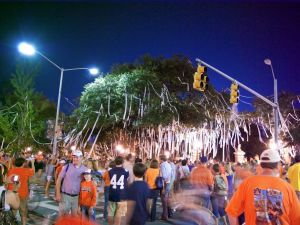 Toomer's Corner at Auburn University.