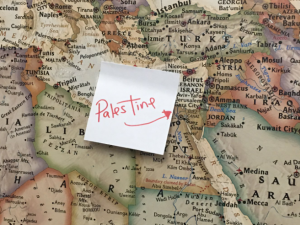 Comedian Relabels Israel As 'Palestine' On Map In Rashida Tlaib's Office by the Forward