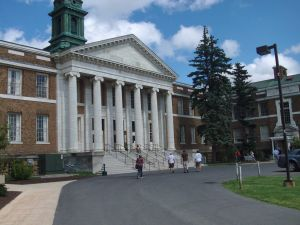 Sheldon Hall at the State University of New York at Oswego.
