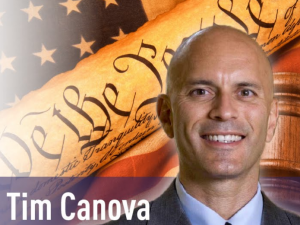 Tim Canova is challenging Rep. Debbie Wasserman Schultz for the Democratic nomination in her south Florida congressional district.