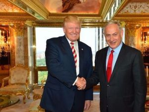 Donald Trump and Benjamin Netanyahu after their September 25 meeting in New York
