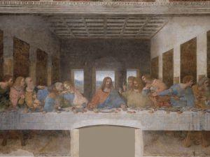 Leonardo Da Vinci's The Last Supper.