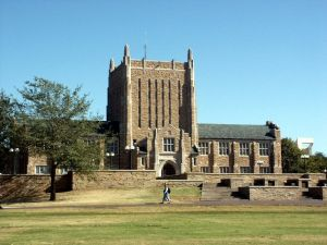 McFarlin Library at University of Tulsa