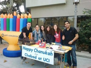 Jewish students at UC Irvine