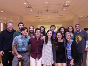 Jewish students and faculty at Davidson College.