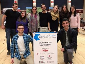 Jewish students at Stony Brook University.