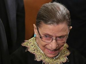 Not Going Anywhere: Ruth Bader Ginsburg insists she is in good health and has no plans to retire from the Supreme Court anytime soon.